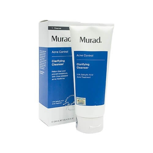 So Sánh Giá Sữa Rửa Mặt Trị Mụn Murad Clarifying Cleanser