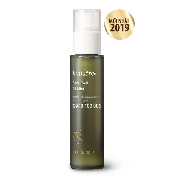 So Sánh Giá Xịt Khoáng Innisfree Olive Real Oil Mist Ex