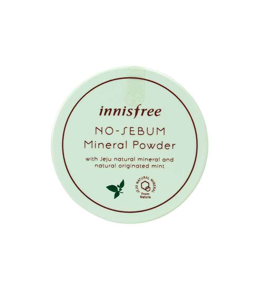 Đánh giá Phấn phủ trong suốt Innisfree No Sebum Mineral Powder