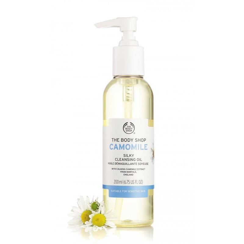 Đánh giá chi tiết Dầu Tẩy Trang The Body Shop Camomile Silky Cleansing Oil