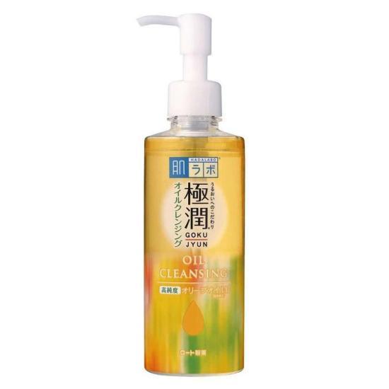 Đánh giá Tẩy Trang ROHTO Hada Labo Gokujun Cleansing Oil