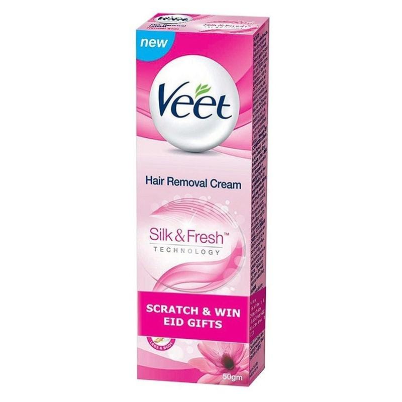 Đánh giá Kem Tẩy Lông Veet Hair Removal Cream Silk & Fresh
