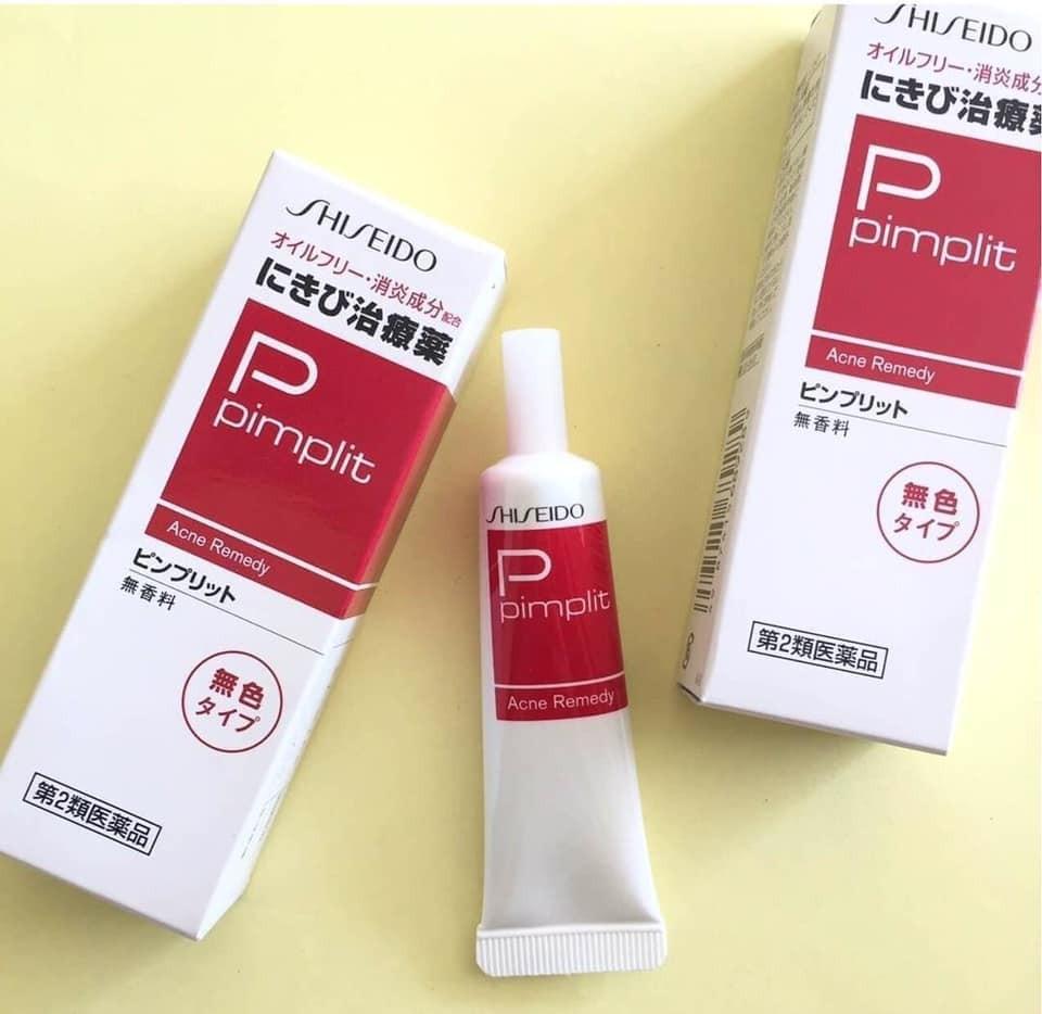 Đánh giá chi tiết Kem trị mụn Pimplit Shiseido
