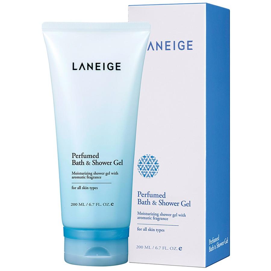 Đánh giá Sữa tắm Laneige Perfumed Bath & Shower Gel