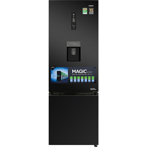 So Sánh Giá Tủ Lạnh Aqua Inverter AQR-IW378EB-BS (324L)