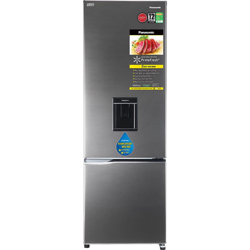So Sánh Giá Tủ Lạnh Panasonic Inverter NR-BV360WSVN (322L)