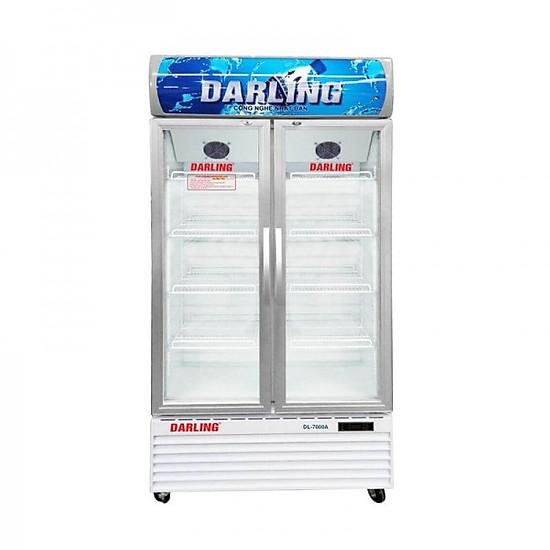 So Sánh Giá Tủ Mát Darling 2 Cánh DL-7000A ĐỒNG (R134A) (630L)