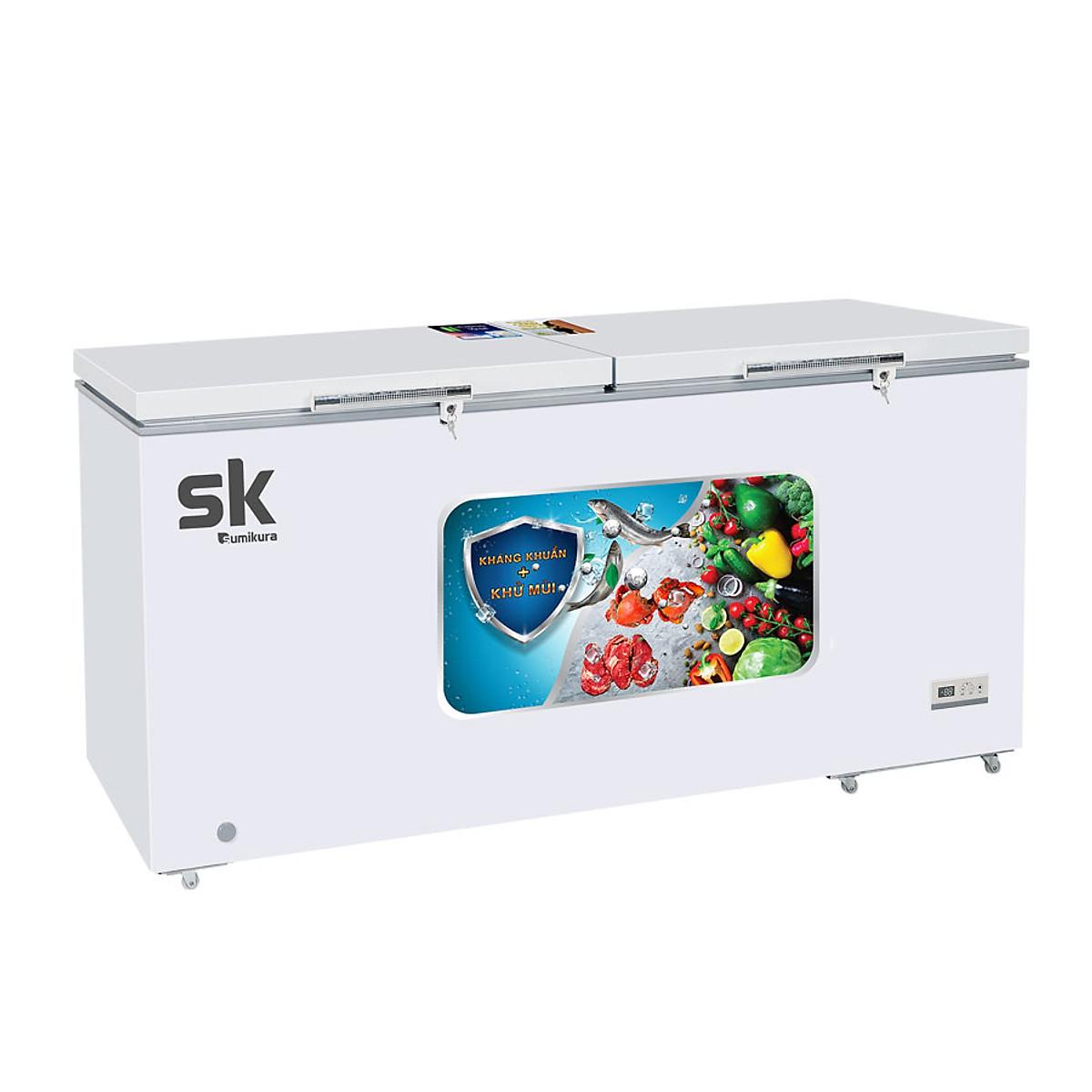 So Sánh Giá Tủ Đông Sumikura Inverter 2 Ngăn SKF-600.DI (600L)