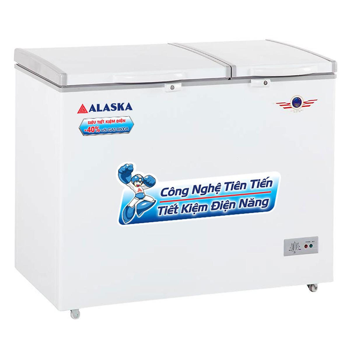 So Sánh Giá Tủ Đông Alaska BCD-3571 (350L)