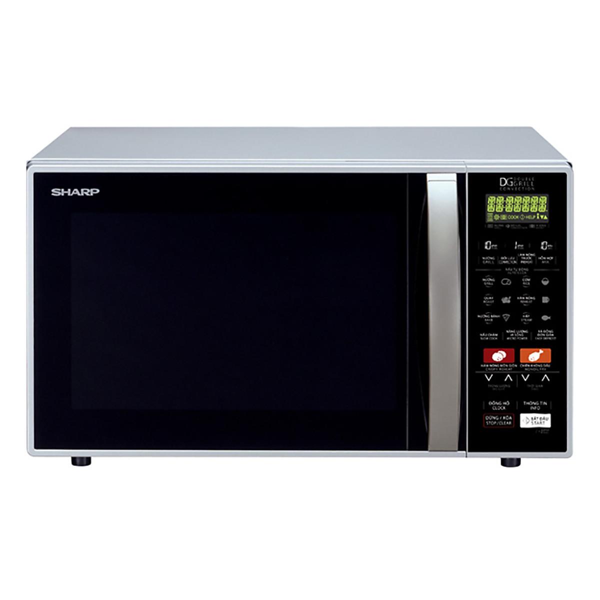 Đánh giá chi tiết Lò Vi Sóng Sharp R-C900VN(S) (26L)