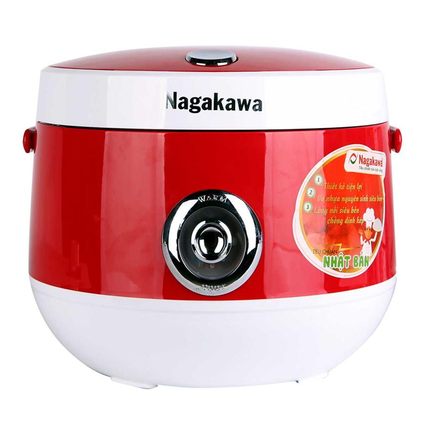 So Sánh Giá Nồi Cơm Điện Nagakawa NAG0101 (1.8L) - Đỏ
