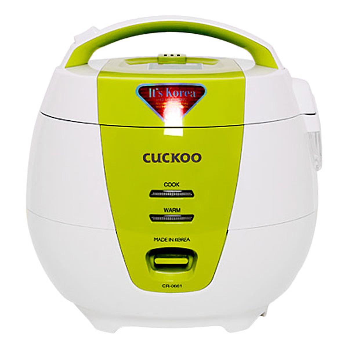 So Sánh Giá Nồi Cơm Điện Cuckoo CR-0661G (1.0L)