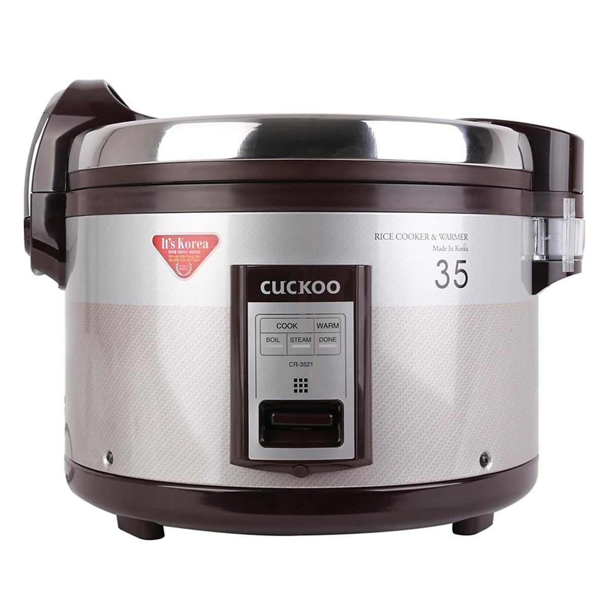 So Sánh Giá Nồi Cơm Điện Cuckoo CR- 3521 (6.3L)