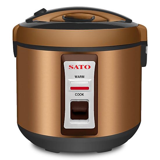 Đánh giá Nồi Cơm Điện SATO VN-S18-82N-ONL (1.8L) - Nâu