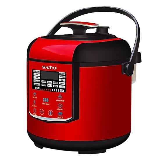 So Sánh Giá Nồi Áp Suất SATO ST-606PC (6.0L) - Đỏ