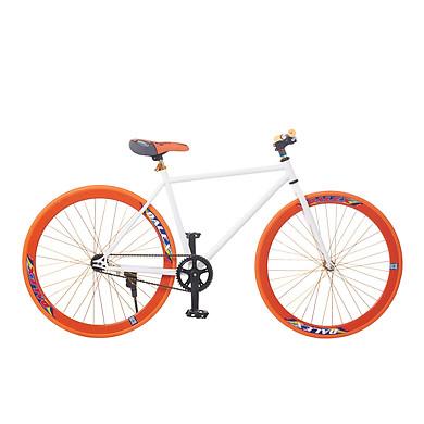 So Sánh Giá Xe Đạp Fixed Gear Single Sportslink - Trắng Phối Cam