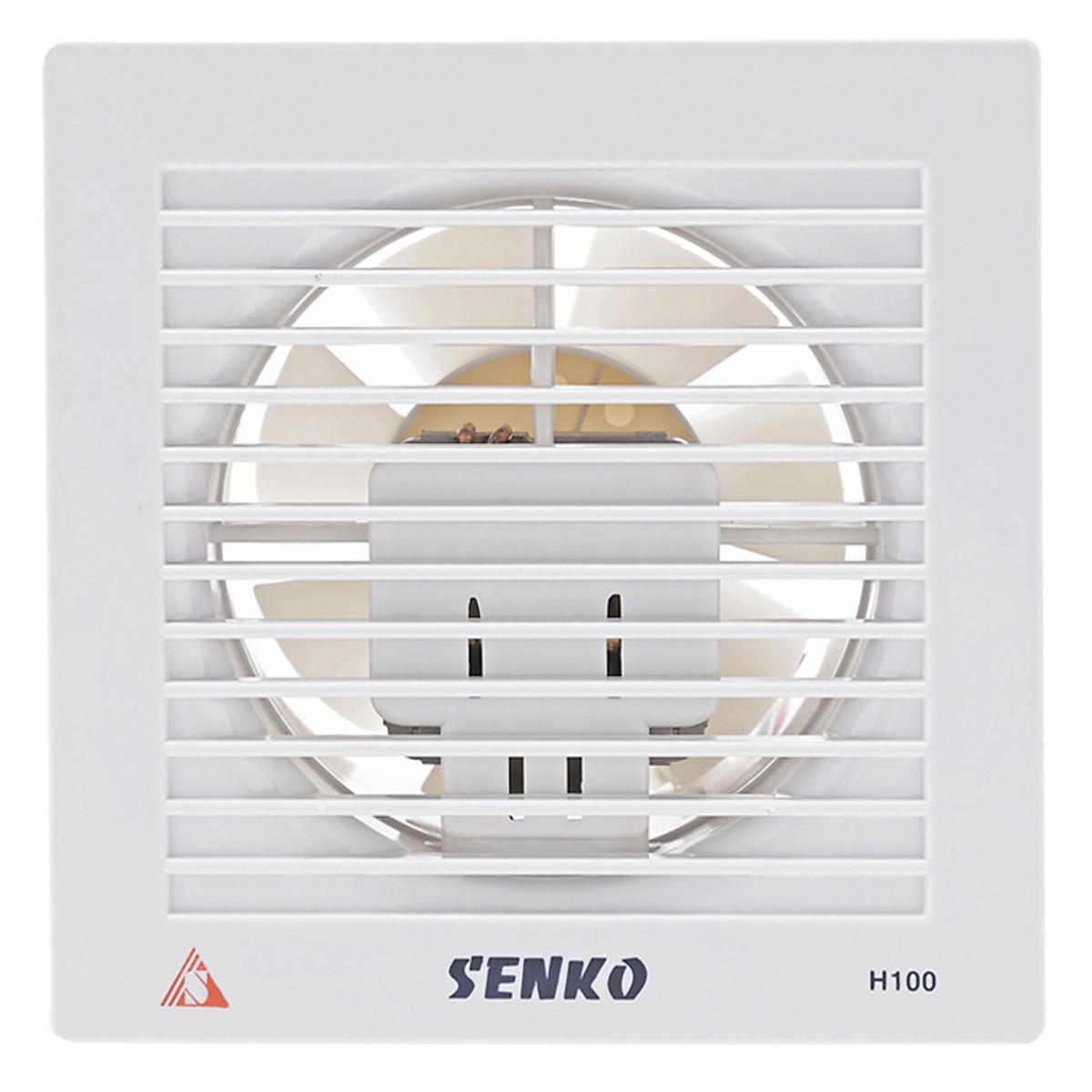Đánh giá, review Quạt Hút Thông Gió Senko H100 (25W)