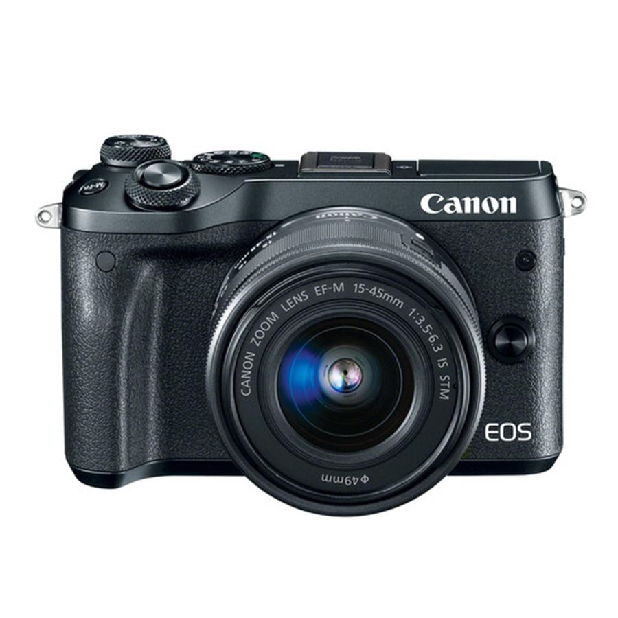 Máy Ảnh Canon M6 KIT EF-M 15-45mm IS STM (24.2 MP)