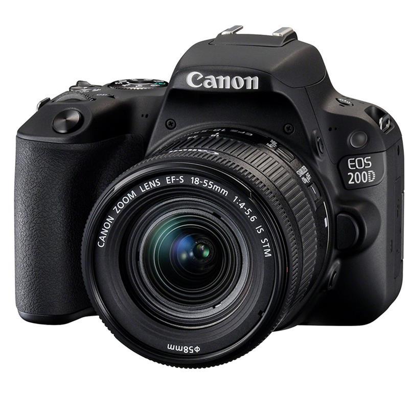 Đánh giá Máy Ảnh Canon EOS 200D KIT 18-55 IS STM (24.2 MP)